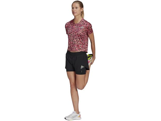 adidas Primeblue 2in1 Shorts Women, negro